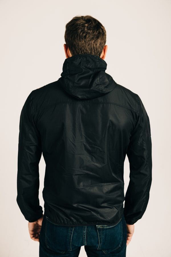 Windbreaker Jacket - Black
