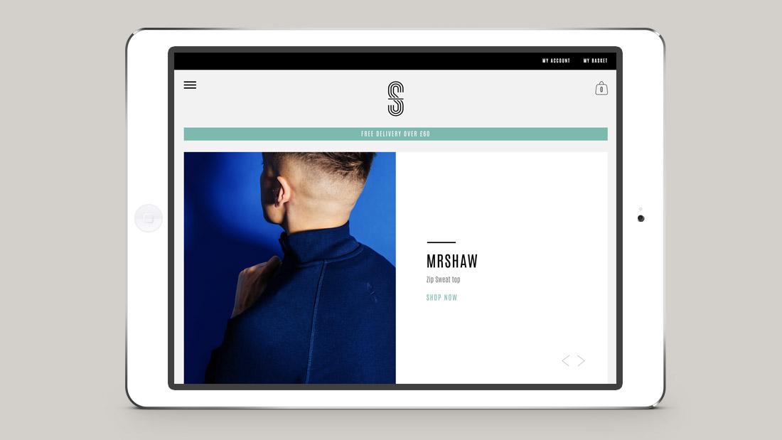 MrShaw Website relaunch