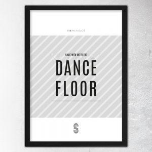 Dance Floor Poster