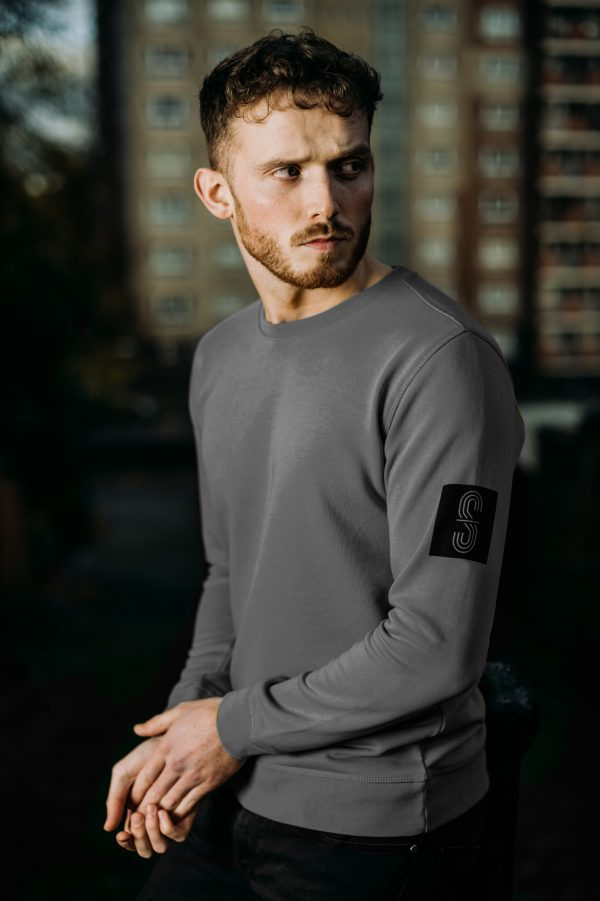 MrShaw Trinity Grey Sweat top