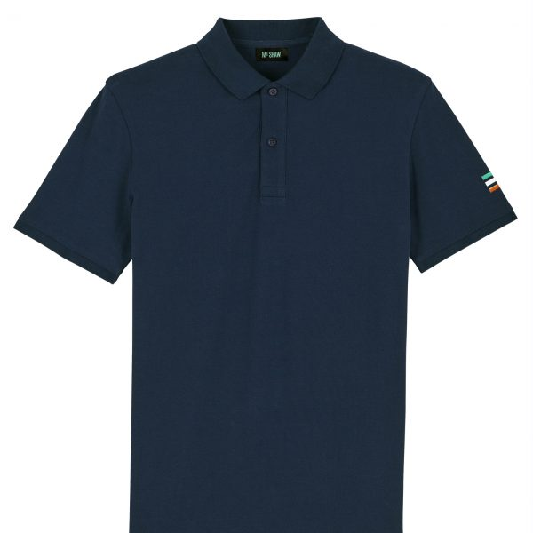 MrShaw Reminisce Polo Navy