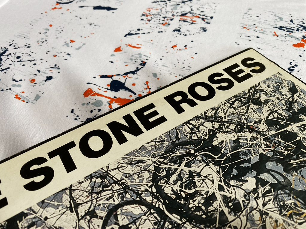 T-Shirt design and Stone Roses cover inspiration